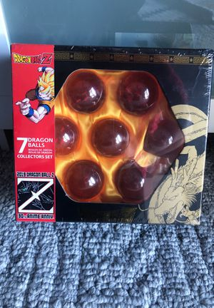 Dragonball Z Crystal Dragonball Collector Set for Sale in Bellevue, WA