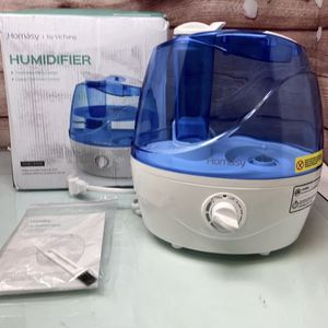 Homasy Cool Mist 2.2L Ultrasonic, 28dB Quiet BPA-Free Air Humidifier for Sale in Westminster, CA