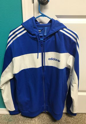 Adidas Originals Hooded Track Jacket for Sale in Spanaway, WA