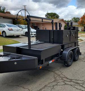 Bbq smoker trailer for Sale in Fresno, CA