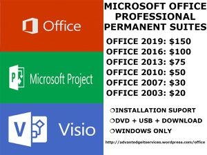 Microsoft Office Professional Plus Permanent Suites for Sale in Boston, MA