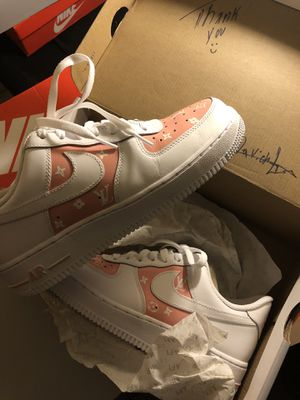 Pink Louis Vuitton custom AF1 for Sale in Lake Worth, FL
