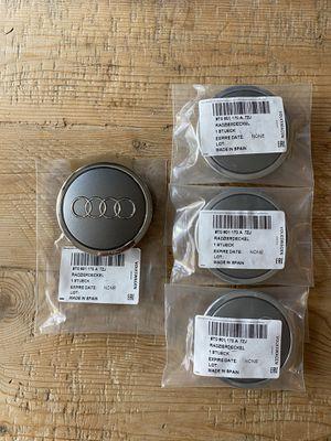 Audi OEM wheel center caps for Sale in Bellevue, WA