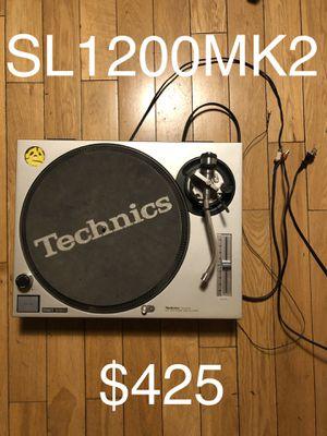 Technics SL1200 MK2 turntable for Sale in Los Angeles, CA