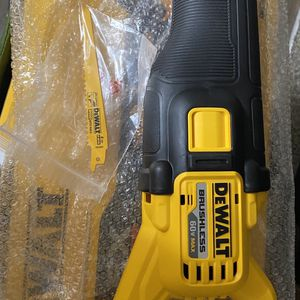 DEWALT FLEXVOLT 60v MAX Brushless Reciprocating Saw (Tool-Only) New for Sale in San Diego, CA