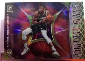 2019-2020 NBA Optic Giannis Antetokounmpo SSP Lime Green Refractor Holo Prizm Fantasy Stars for Sale in Anaheim, CA