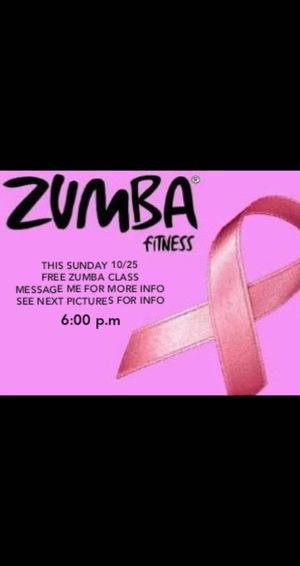 ZUMBA OCT25 TONIGHT for Sale in El Monte, CA