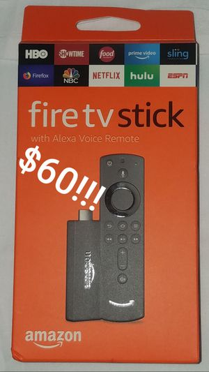 Amazon Fire TV Stick with Alexa for Sale in Tampa, FL