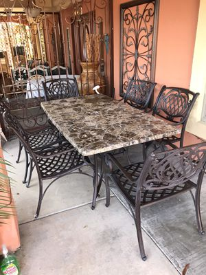 Beautiful HEAVY 7PC Patio Furniture for Sale in Phoenix, AZ