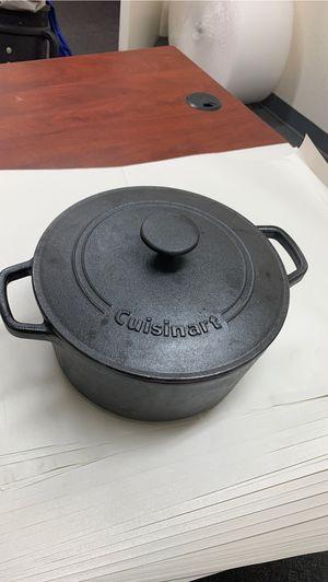 Cuisinart CIPS670-30 Classic Pre-Seasoned, 7 quart, Black pots and pans for Sale in Phoenix, AZ