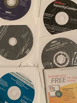 Dell CD Application Software!! for Sale in Houston,  TX