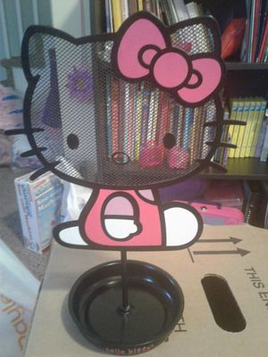 Hello Kitty jewelry holder, collectible tin & books. for Sale in Levittown, PA