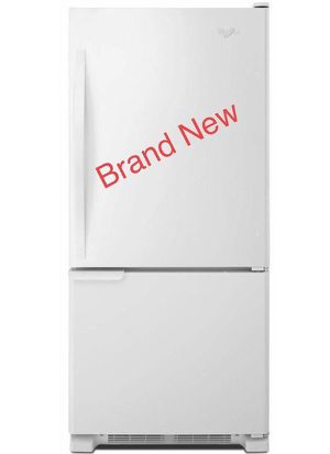 Refrigerator Fridge Home Appliances Kitchen Freezer Refrigerador Nevera Frio Heladera whirlpool 18.7 cu. ft. WRB119WFBW01 for Sale in Miami, FL