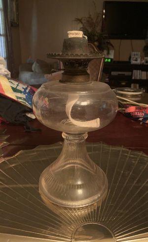 1800's Antique Miller Oil Lamp for Sale in Houston, TX