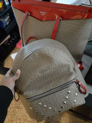 Guess backpack and purse for Sale in Waterford Township, MI