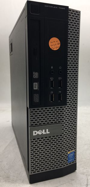 Dell OptiPlex 7020 sff i5-4590 4GB 500GB HDD Desktop Computer w/ Windows 10 for Sale in Phoenix, AZ