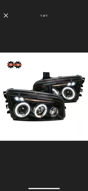 2006-2010 Dodge Charger headlights and cold air intakes dirt cheap for Sale in Huntsville, TX