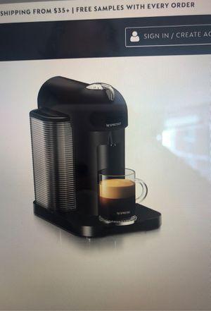 Nespresso Vertuo Coffee and espresso maker for Sale in Philadelphia, PA