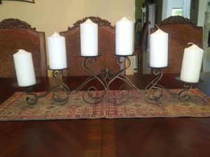 Metal Candle holder for Sale in Manvel, TX