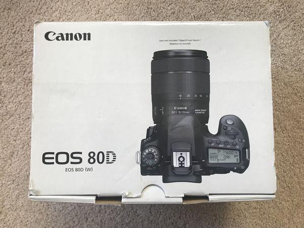 Digital Camera Canon 80D