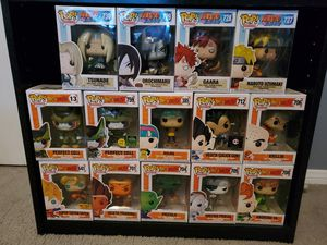 DragonBall Z and Naruto pops for Sale in Henderson, NV