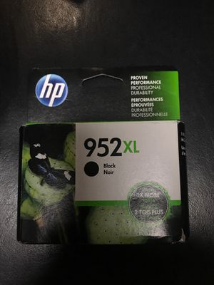 HP952XL black Noir Printing ink for Sale in New York, NY