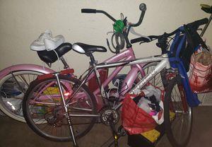 Diamondback pink beach cruiser and Trek mountain bike for Sale in Lemon Grove, CA