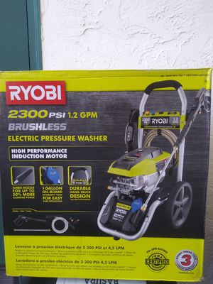 Ryobi 1.2 rpm Electric pressure washer for Sale in Walnut Creek, CA