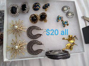 Earrings all for Sale in GLMN HOT SPGS, CA