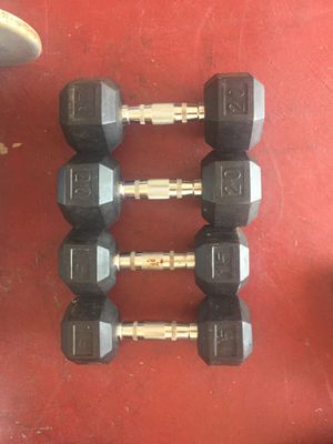 Dumbbells,15 and 20 pounds for Sale in Chula Vista, CA
