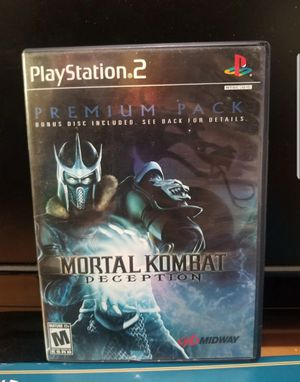 Ps2 Mortal kombat Deception for Sale in Baltimore, MD