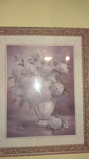 """Floral picture 26"""" x 32"""" for Sale in Lutz, FL"""