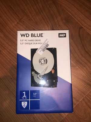 "WD BLUE 3.5"" PC Hard drive for Sale in Brighton, CO"