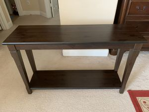 IKEA console table (solid wood) for Sale in Allen, TX