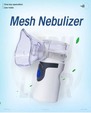Mini Handheld portable Inhale Nebulizer Mesh atomizer silent inalador usb autoclean nebulizador Adult Automizer inhaler for kids for Sale in Orlando, FL