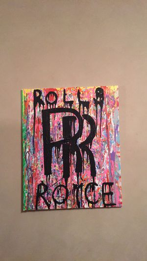 Rolls Royce Painting for Sale in San Francisco, CA