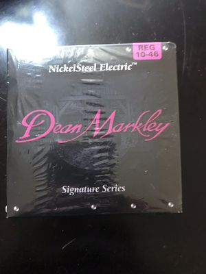 "Nickelsteel electric brand ""Dean Markley"" signature series antique guitar strings for Sale in Fresno, CA"