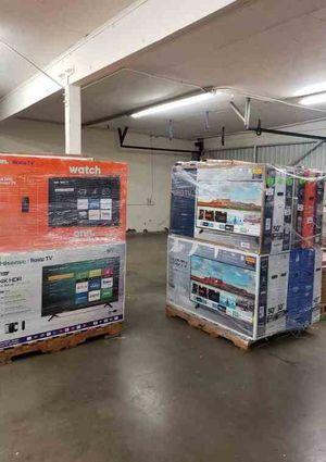 """Brand New TCL ROKU TV 32"""" open box w/ warranty FUAE for Sale in Houston, TX"""
