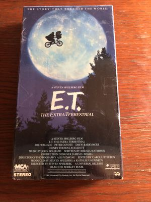 ET movie VHS sealed for Sale in Los Angeles, CA