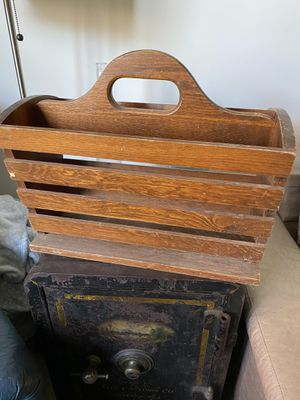 Antique Wood Carrier - tote - beverage carrier - for Sale in Alexandria, VA