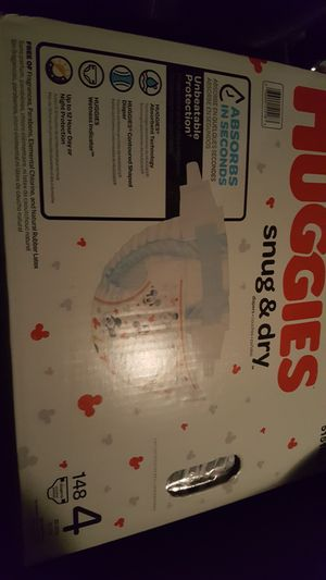 Huggies all sizes Snug & Dry 143 diapers for Sale in Seattle, WA