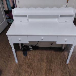 All White Desk for Sale in Stockton, CA