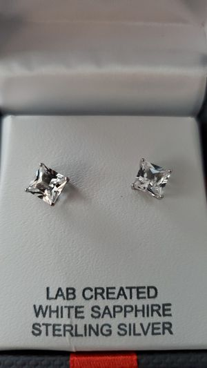 Sapphire and Sterling Silver for Sale in Brownstown Charter Township, MI