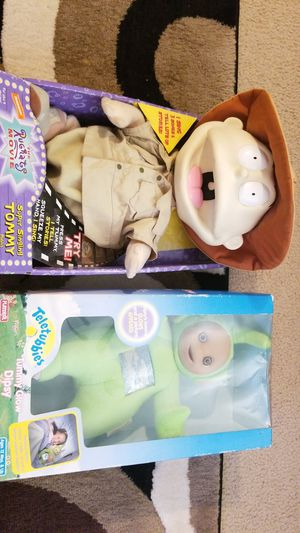 Tommy from Rugrats and a Teletubbie for Sale in Tampa, FL