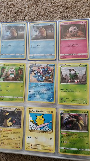 Lot of 108 holographic holo pokemon card for Sale in Queen Creek, AZ