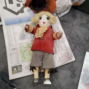 Antique 11 inch Paper Mache George washington doll bought 1948 for Sale in Finleyville, PA