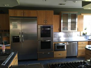 Omega kitchen cabinets and granite tops for Sale in Millstone, NJ