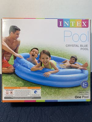 NEW POOL 5 feet wide brand new play pool easy set up 5 feet wide new never opened for Sale in Buena Park, CA
