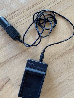 Travel Nikon Battery Charger with Cigarette Lighter Adaptor for Sale in Sacramento,  CA