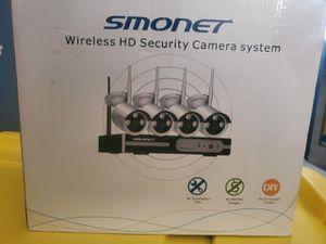 Smonet wireless security cameras system for Sale in La Mirada, CA